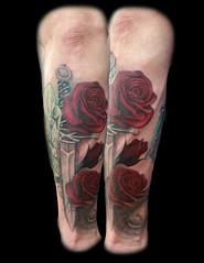 Roses Eye of Jade Tattoo chad nicely tattoos