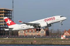 HB-JBB Bombardier CS100 Swiss Airlines