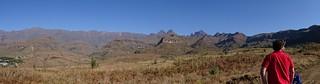 quadbiking near Cathedral Peak, Drakensberg, KwaZulu-Natal