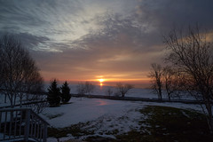 Sunrise Over Lake Ontario, From Our Front Window
