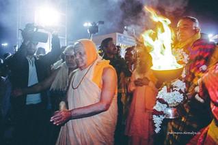 Samudra Arati Function of Gobardhan Pitha
