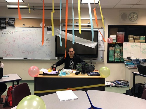 Happy birthday to our fearless advisor, Mr. Amato🎉🎉🎉