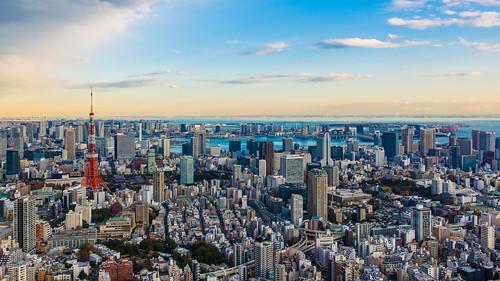 Tokyo Sunset / 東京日落