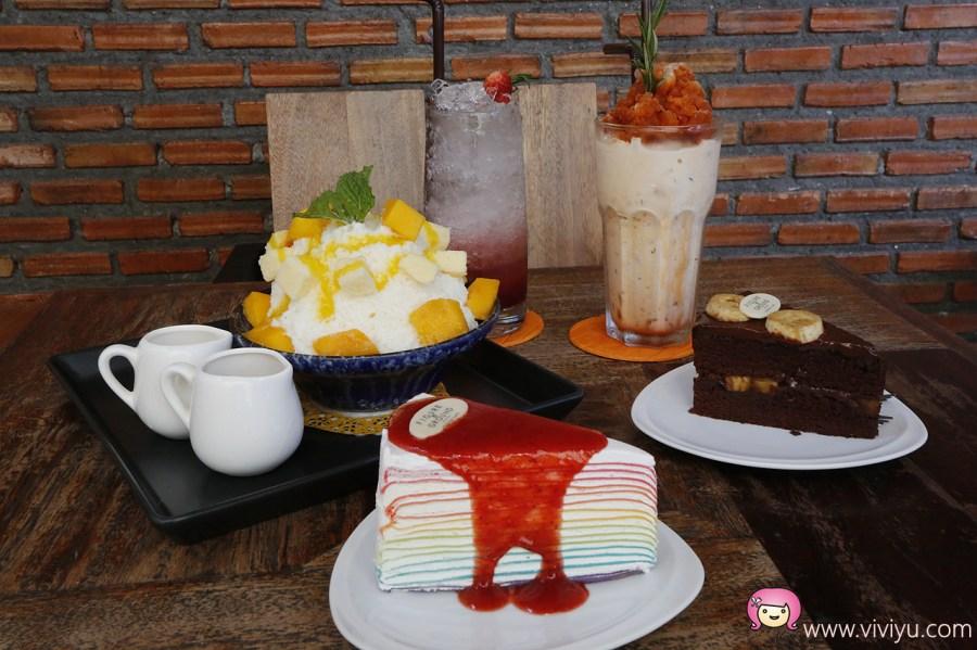 Figure&Ground Museum Cafe,泰國旅遊,泰國美食,泰式奶茶,清萊景點,清萊美食,芒果冰 @VIVIYU小世界