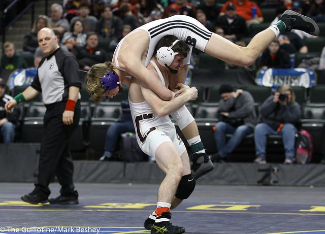 145A 1st Place Match - Brady Tweeton (Barnesville) 44-1 won by decision over Jake Mandt (Chatfield) 38-1 (Dec 9-6) - 180303cmk0182