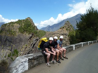 After canyoning, Fleur Jaune, La Réunion