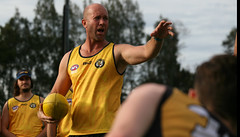 Balmain Tigers AFL Sydney Training Session February 22, 2018 00014