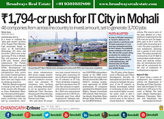 it-city-mohali-road-development