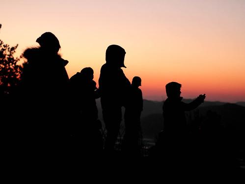 Climbing Geom-moo mountain for sunrise_MDY_180101_14