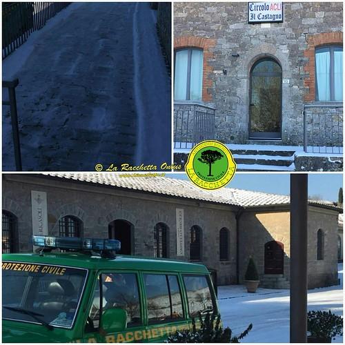 Emergenza Neve Toscana