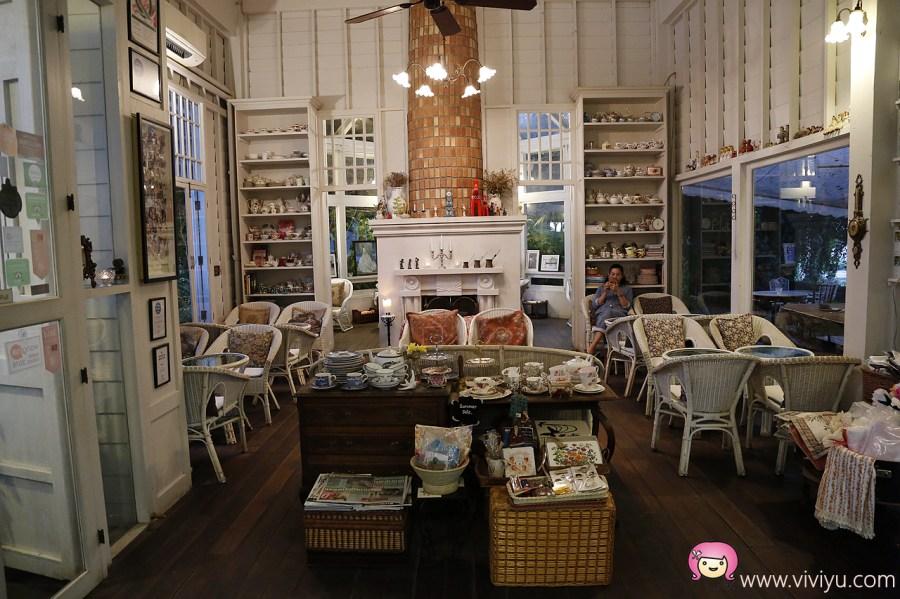 Chivit Thamma Da Coffee House,泰國美食,泰國菜,清萊下午茶,清萊府,清萊最美,清萊美食,清萊餐廳 @VIVIYU小世界