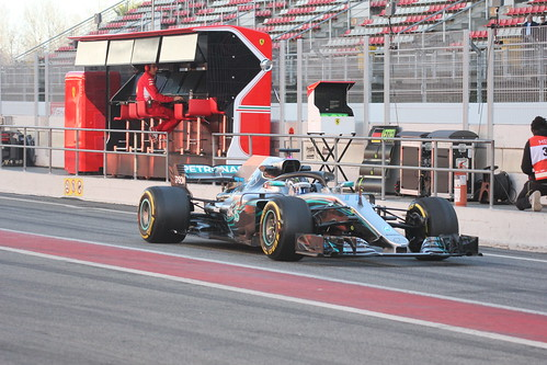 Valtteri Bottas in Formula One Winter Testing 2018