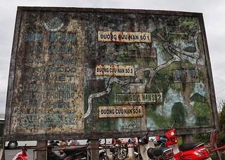 American bunker The Hải Vân Pass