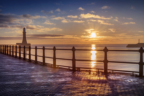Early one morning, at Roker, Sunderland