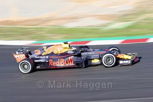Daniel Ricciardo during Formula One Winter Testing 2018