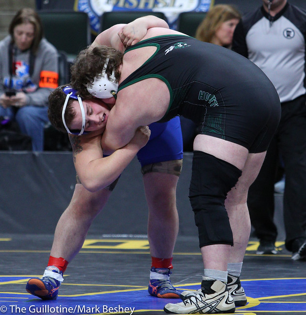 285A Semifinal - Tanner Tappe (Frazee) 28-6 won by decision over Josh Hansen (Canby) 44-8 (Dec 9-4) - 180303amk0103