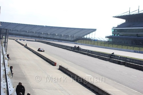 British F4 Pre-season testing at Rockingham