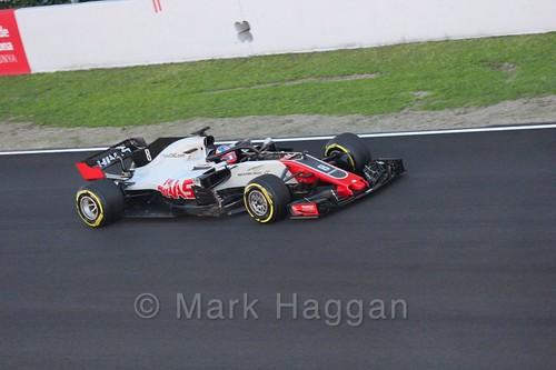Romain Grosjean during Formula One Winter Testing 2018