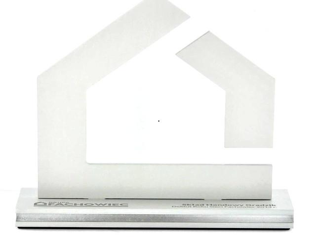 Fachowiec- Statuetki aluminium połączone z bezbarwną plexi(26)