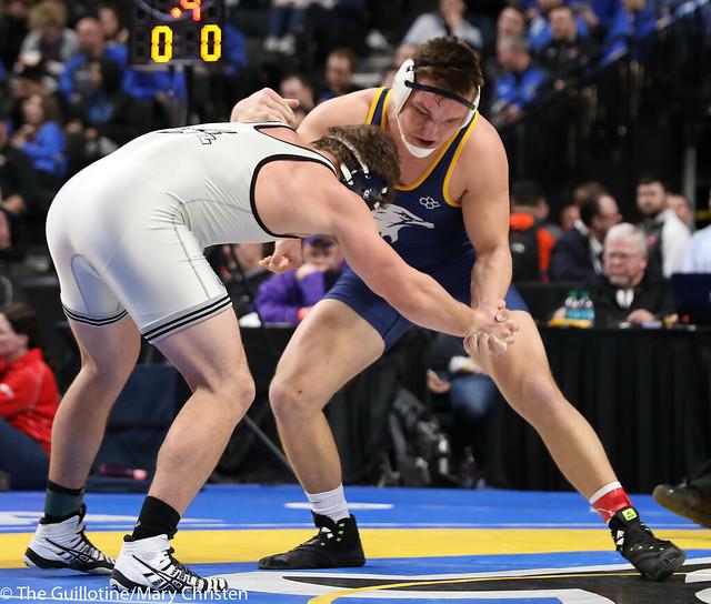 3rd Place Match - Nate Schutz (Totino-Grace) 44-13 won by decision over Reed Rasset (Annand-M Lk Lightning) 31-6 (Dec 3-2). 180303BMC6076