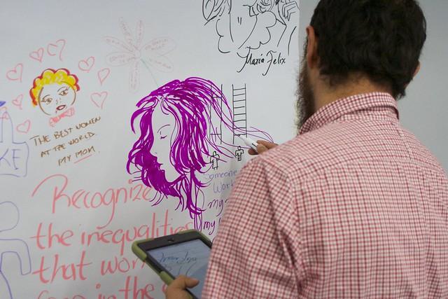 Mural UDG Day 4: International Women's Day