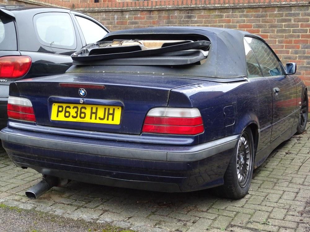 medium resolution of 1996 bmw 318i cabrio auto neil s classics tags vehicle abandoned 1996 bmw 318i
