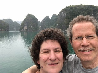 Obligatory Selfie in Halong Bay