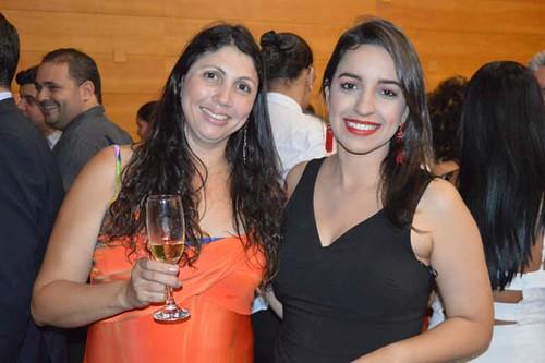 Jaqueline Lagfe e Joana Telles