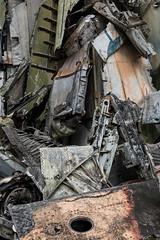 Carcasse d'avion (musée militaire Hanoi)