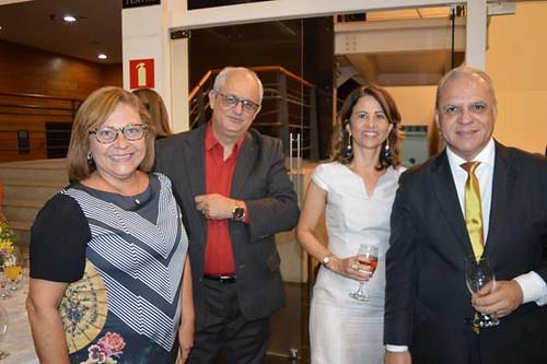 Betina Tassis, Luís Carlos Kadil, Ricássia Perdigão e Carlos Souto
