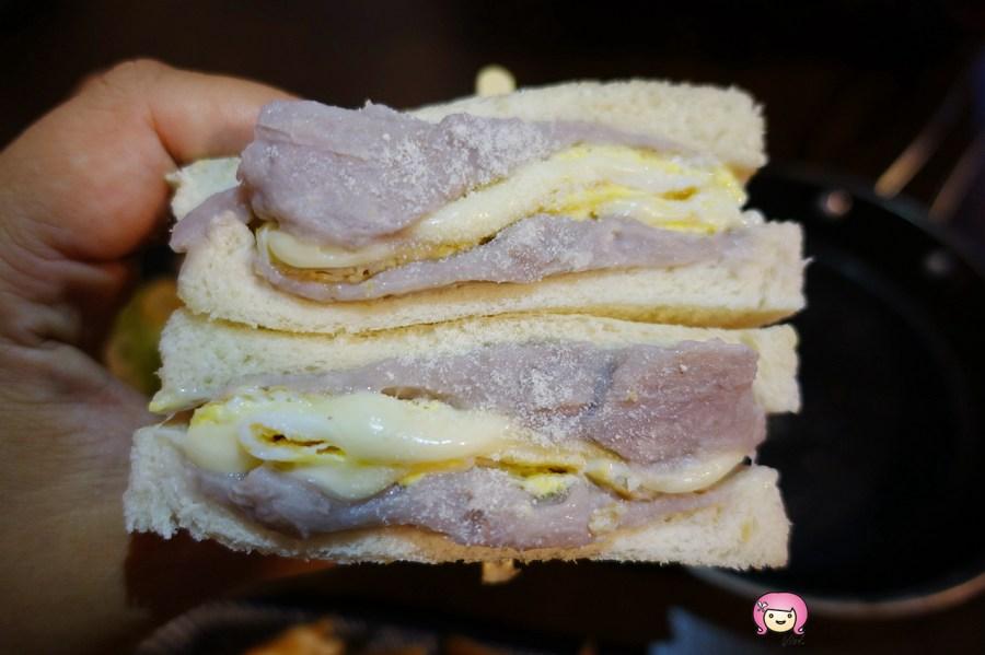 排隊美食,桃園早午餐,桃園早餐,桃園美食,港式奶皇蛋餅,職人吐司部,芋頭吐司,銅板美食 @VIVIYU小世界