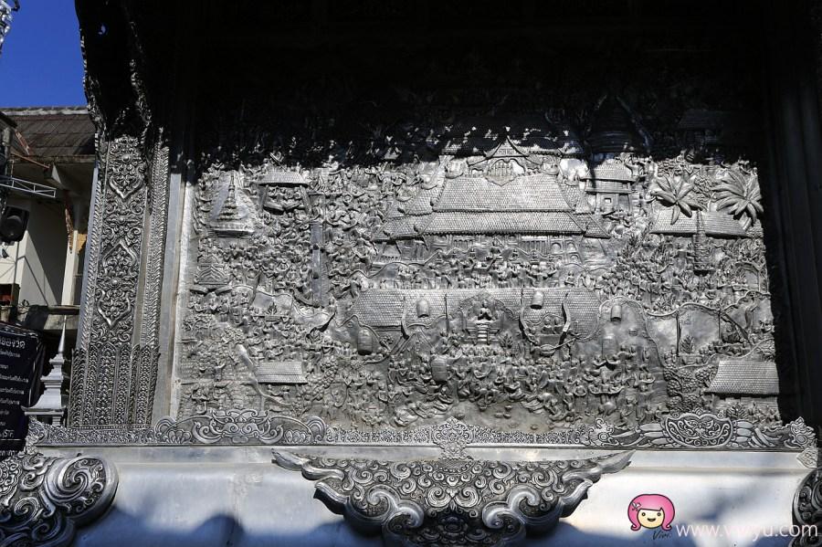 [清邁景點]素攀寺Wat Srisuphan(วัดศรีสุพรรณ)-銀廟│清邁必遊廟宇之一.令人贊嘆的藝術品 @VIVIYU小世界