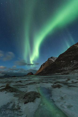 Aurora in Haukland