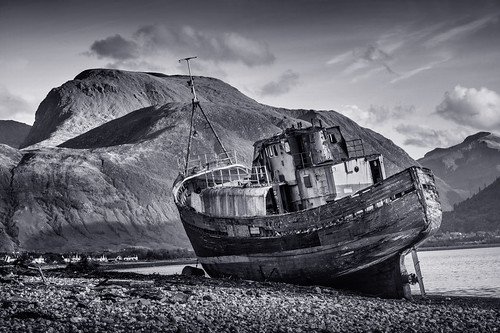 The Corpach Wreck, Corpach, Fort William