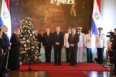 Saludo del Cuerpo Diplomático al Presidente
