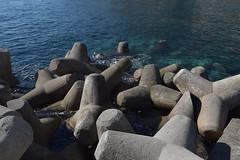A game of jacks gone wrong? No it's a concrete tetrapod breakwater.