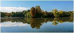 Der Herbst im Spiegel..