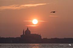 Tramonto dorato.Venezia 31/12/18.