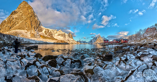Photographer in Reine