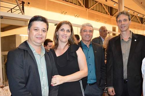 Luís Henrique Alves, Adriana, José Carlos Alvarenga e Cláudio Zambaldi