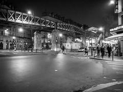 Balade nocturne dans Paris  (iPhone)