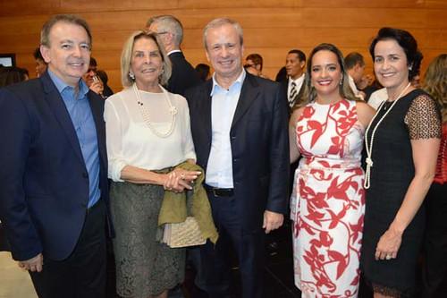Túlio Chipolleti, Conceição Soares, Sérgio Leite, Penélope Portugal e Rita Rebelo