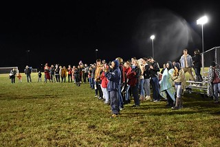 Our TPA fans! Thanks for the support on a late school night.
