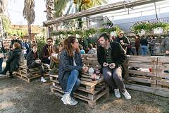 Moments a l'@artgardenmarket Idees noves per impulsar l'economia, l'art i la gastronomia local. #SomPoble #latianaquemagrada #Tiana