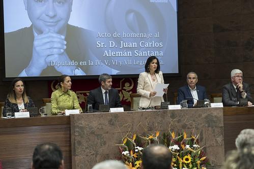 Homenaje a Juan Carlos Alemán Santana