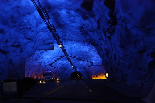 Lærdals tunnel: 24,5km in the dark