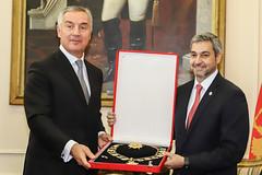 Visita del Presidente de la República de Montenegro