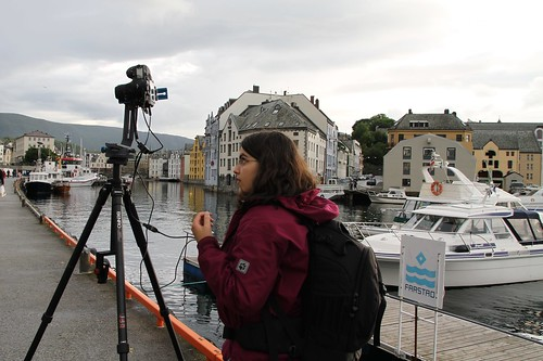 Working in ålesund