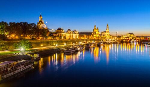 Dresden - Blue hour