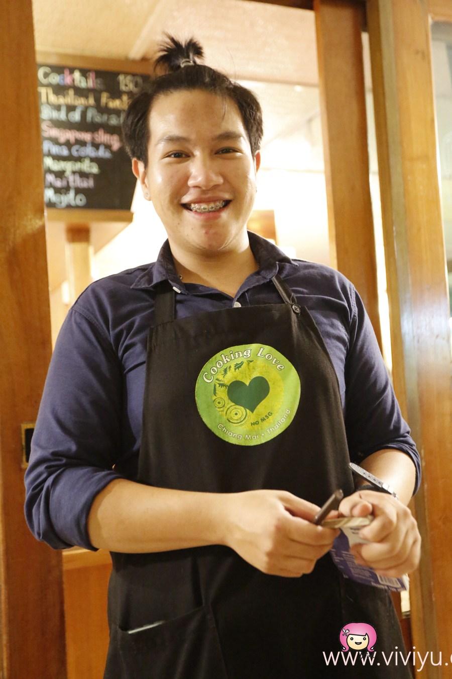 [清邁美食]Cooking Love│清邁老城區.塔佩門旁巷弄美食~平價美味.此趟最好吃的芒果糯米飯! @VIVIYU小世界